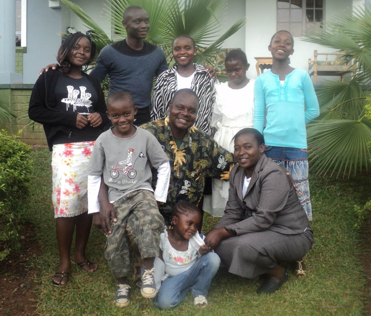 Peter Midodo and Family